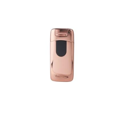 Vector Electron Rose Gold Polish Arc Lighter - LG-VEC-ELEC03