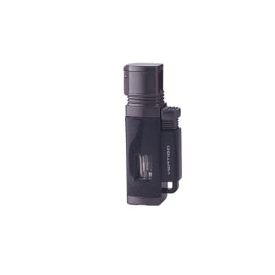 Vertigo Churchill Lighter Black - LG-VRT-CHURBLK