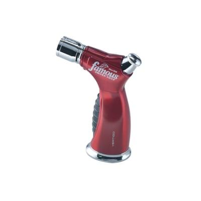 Vertigo Raptor Lighter Red w/ Famous Smoke Shop Logo - LG-VRT-RAPRFMS