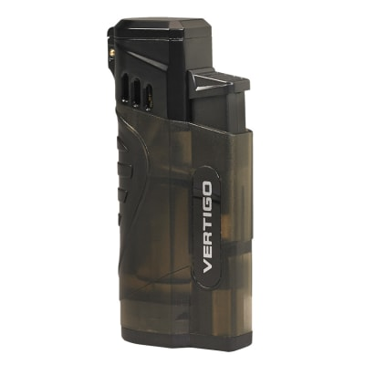 Vertigo Stinger Quad Flame Lighter Charcoal - LG-VRT-STINGCHR