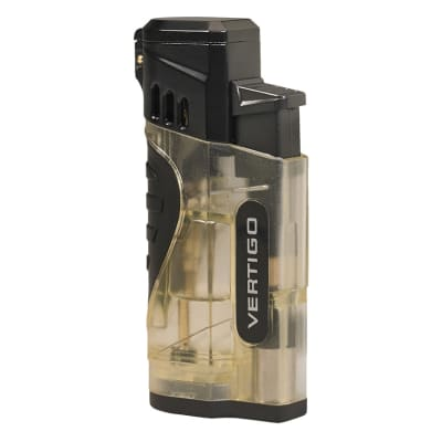 Verigo Stinger Quad Flame Lighter Clear - LG-VRT-STINGCL