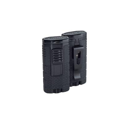 Xikar Tactical Triple Torch Black and Black Lighter-LG-XIK-553BK2 - 400
