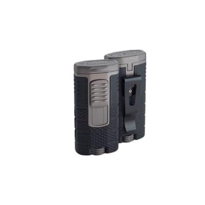 Xikar Tactical Triple Torch Black and Gunmetal Lighter-LG-XIK-553BKGM - 400