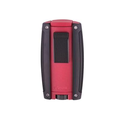 Xikar Turismo Double Flame Lighter Matte Red-LG-XIK-558RD - 400