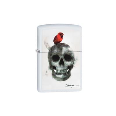 Zippo Spazuk Skull / Cardinal - LG-ZIP-29644