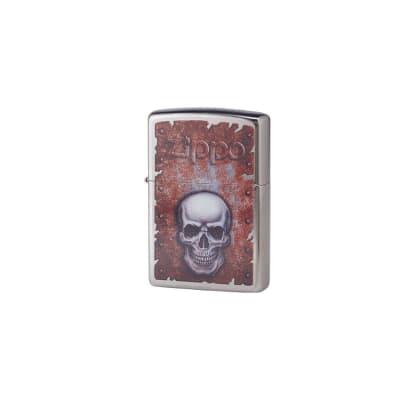 Zippo Street Chrome Skull - LG-ZIP-29870