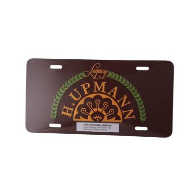 H Upmann License Plate-MI-HUP-LICENSE - 400