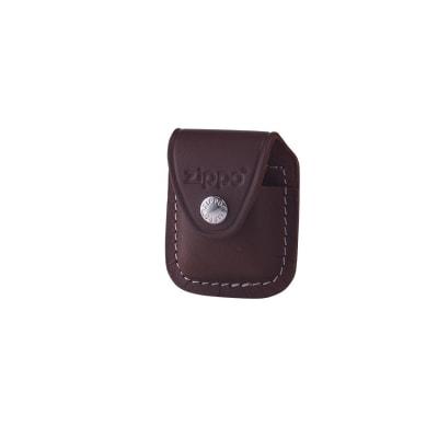 Zippo Brown Pouch W/Clip-MI-ZIP-LPCB - 400