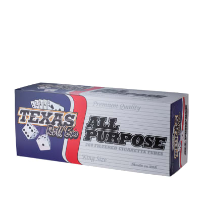 Texas Roll'Em Regular RYO Tubes - RT-TEX-REG