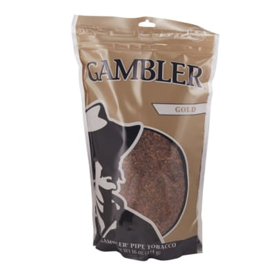 Gambler Pipe Tobacco Mellow 16 Ounce - TB-GAM-MELL16