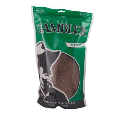 Gambler Pipe Tobacco Mint 16-TB-GAM-MINT16 - 400