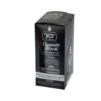 Captain Black Dark 6 Pack Pipe Tobacco - TP-CAP-CBDARK