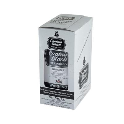 Captain Black Regular 6 Pack Pipe Tobacco - TP-CAP-CBREG